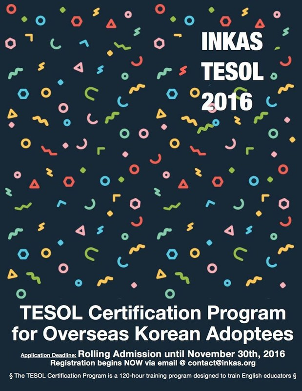Inkas Inkas Tesol Certification Program 2016